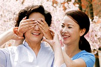 Woman closing her mother's eyes