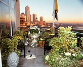 Downtown Seattle, WA from Pike Place Rooftop Garden of John Fikkan