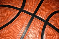 Close up of a basketball (thumbnail)