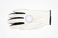 Golf glove and golf ball