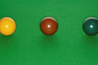 Snooker balls