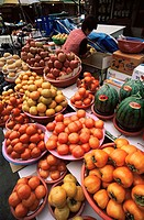 Asia, South Korea, Korea, Seoul, Namdaemun Market, Outdoor Market, Market, Food, Shop, Shopping, Fruit Store, Fruit, P