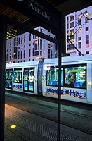 Two new tramway lines in the city of Lyon, France