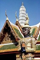 Guardian, Royal Palace, Bangkok, Thailand