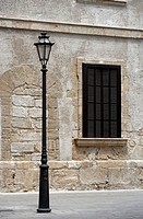 Street light in Mallorca, Majorca, Balearic Islands, Spain