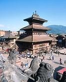 Bhaktapur. Kathmandu valley. Nepal.