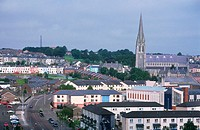 Panoramic view. Derry. Northern Ireland
