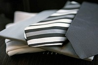 Gray neckties