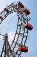 Riesenrad, Prater Wheel, Vienna, Austria