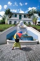 War monument. Martinique, Caribbean, France