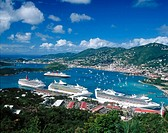 Charlotte Amalie. Saint Thomas Island. U.S. Virgin Islands