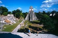 Tikal Maya ruins. Yucatan. Guatemala