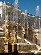 The Great Cascade, Peterhof Palace, St Petersburg, Russia