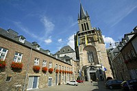 View of the Cathedral. Aachen, North Rhine-Westphalia, Germany