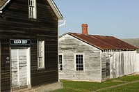 Traditional Amana Colony Architecture. West Amana. Amana Colonies. Iowa. USA.