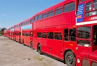 England, London, routemaster bus