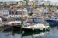 Mevagissey Harbour South Cornwall UK