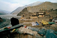 Village. The Himalayas (Nepal)