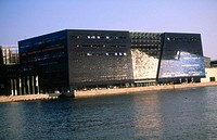 'The Black Diamond', an extension of the Royal Library in Copenhagen. Denmark