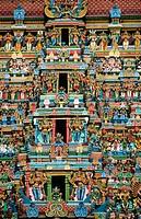 Sri Meenakshi Amman Temple, Madurai. Tamil Nadu, India