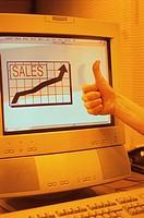positive sales
