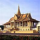 Cambodia, Phnom Penh, Chan Chaya Pavilion of the Royal Palace