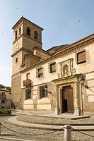 Collegiate church of San Salvador (16th century), Granada. Andalusia, Spain