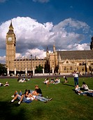 Palace of Westminster, Big Ben, London. England, UK
