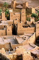 Ait Ben Haddou, Adobe fortress. Atlas mountains, Morocco