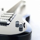 Shot of an electric guitar