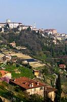 Bergamo Alta. Lombardy, Italy
