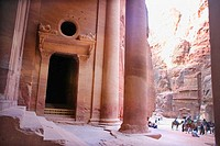 The Khasneh (´Treasury´) at Petra. Jordan