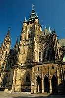 St Vitus Cathedral in Prague. Czech Republic. 2006