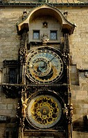 The Astronomical Clock in Prague. Czech Republic. 2006