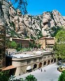 Benedictine Monastery of Montserrat, Barcelona Province, Catalonia, Spain