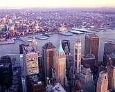Financial district, Downtown, Manhattan, New York, USA