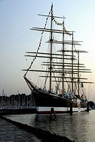 Sailing ship, Travemuende, Germany