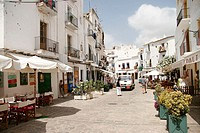 Street. Ibiza. Balearic Islands. Spain
