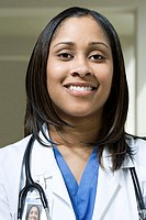 Female hospital doctor (thumbnail)