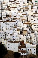 Casares. Malaga province. Andalucia. Spain.