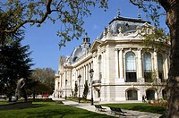 The Museum of the Petit Palais - Paris - France