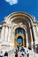 The Museum of the Petit Palais. Paris. France