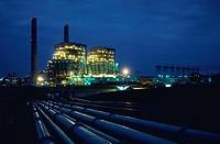 Power Plant at Night