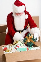 Santa Claus Packaging Gifts