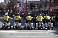 2005 Chinatown Parade. Vancouver BC Canada. Year of the Rooster.  NO RELEASE  No Property Release No Model Release