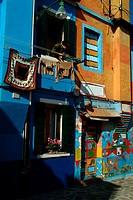 Facade of a building, Venice, Veneto, Italy
