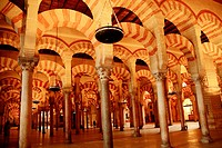 Mosque of Cordoba. Andalusia. Spain