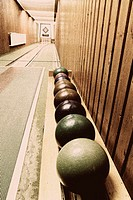 Bowling alley   Leisure time, hobby, sport, cones, track, balls, cones, installation, game, clears, ´all Neune´, match, sociability, skill, precision,...