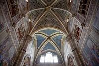 Certosa (Carthusian monastery), Pavia. Lombardy, Italy