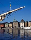 Af Chapman Ship in Old Town ( Gamla Stan ), Stockholm, Sweden, Scandinavia